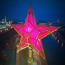Красивые виды Москвы снятые с квадрокоптера