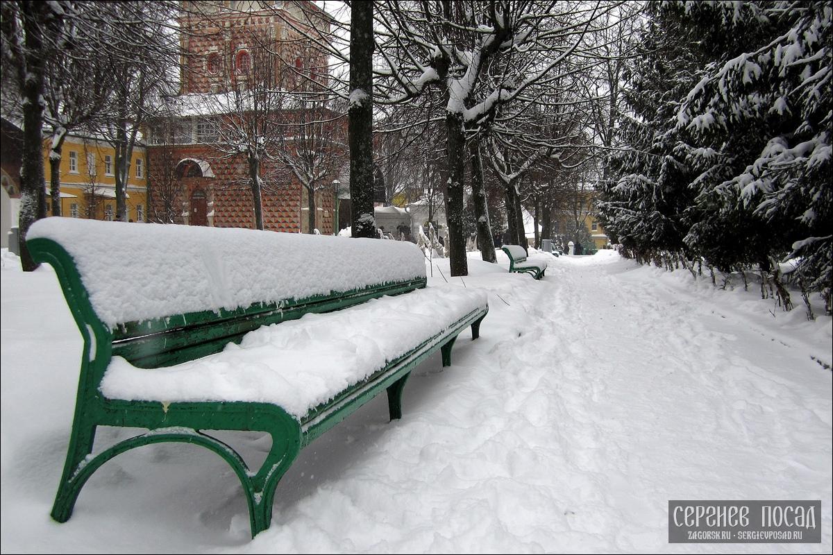 Зимний Сергиев Посад