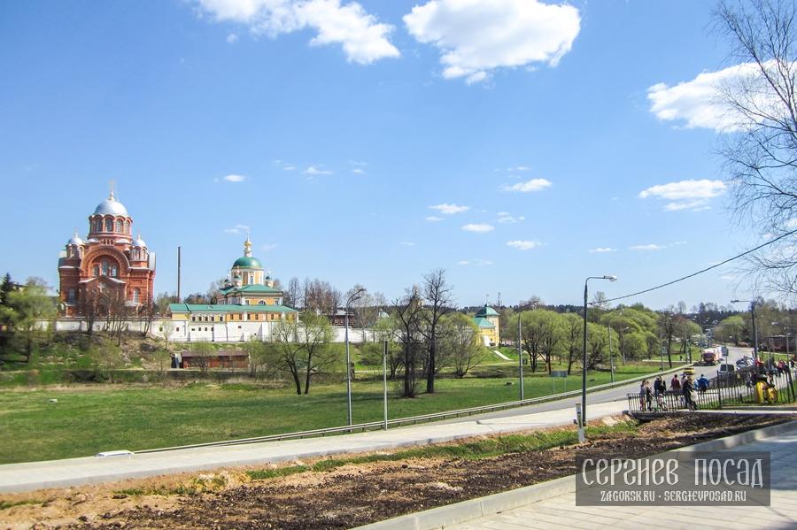 Великая Суббота. Покровский Хотьков монастырь. 30 апреля 2016 года