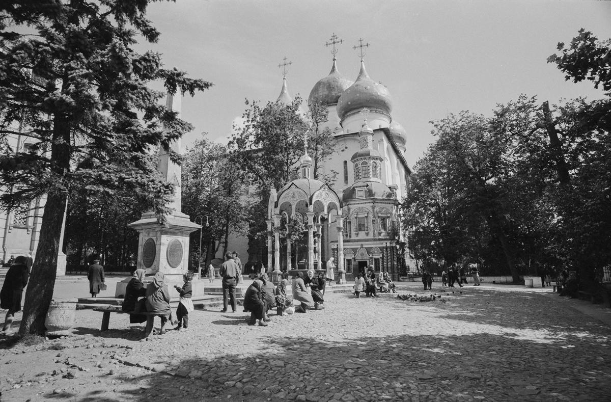 Загорск. Троице-Сергиева лавра в 1966 году.