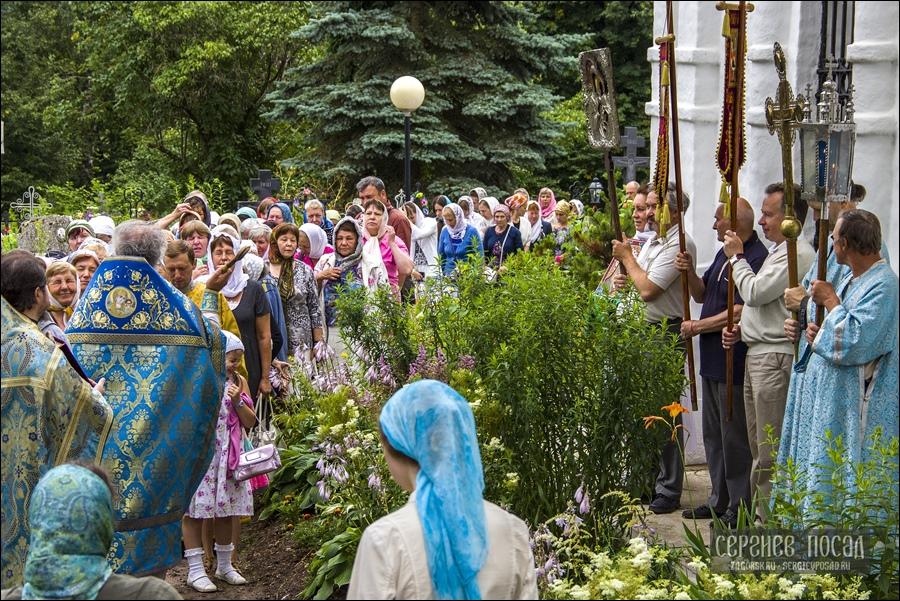 Празднование в честь явления иконы Пресвятой Богородицы во граде Казани. 340 лет Казанскому храму села Шеметово. 21 июля 2016 года