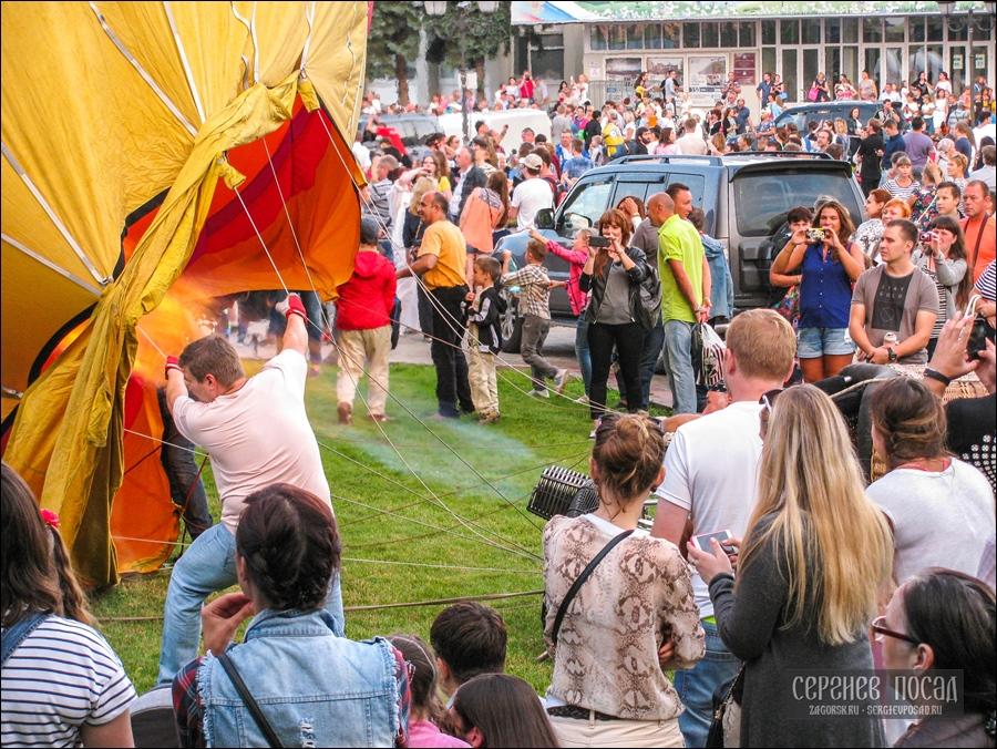 Как прошёл XIV фестиваль тепловых аэростатов «Небо Святого Сергия» в Сергиевом Посаде