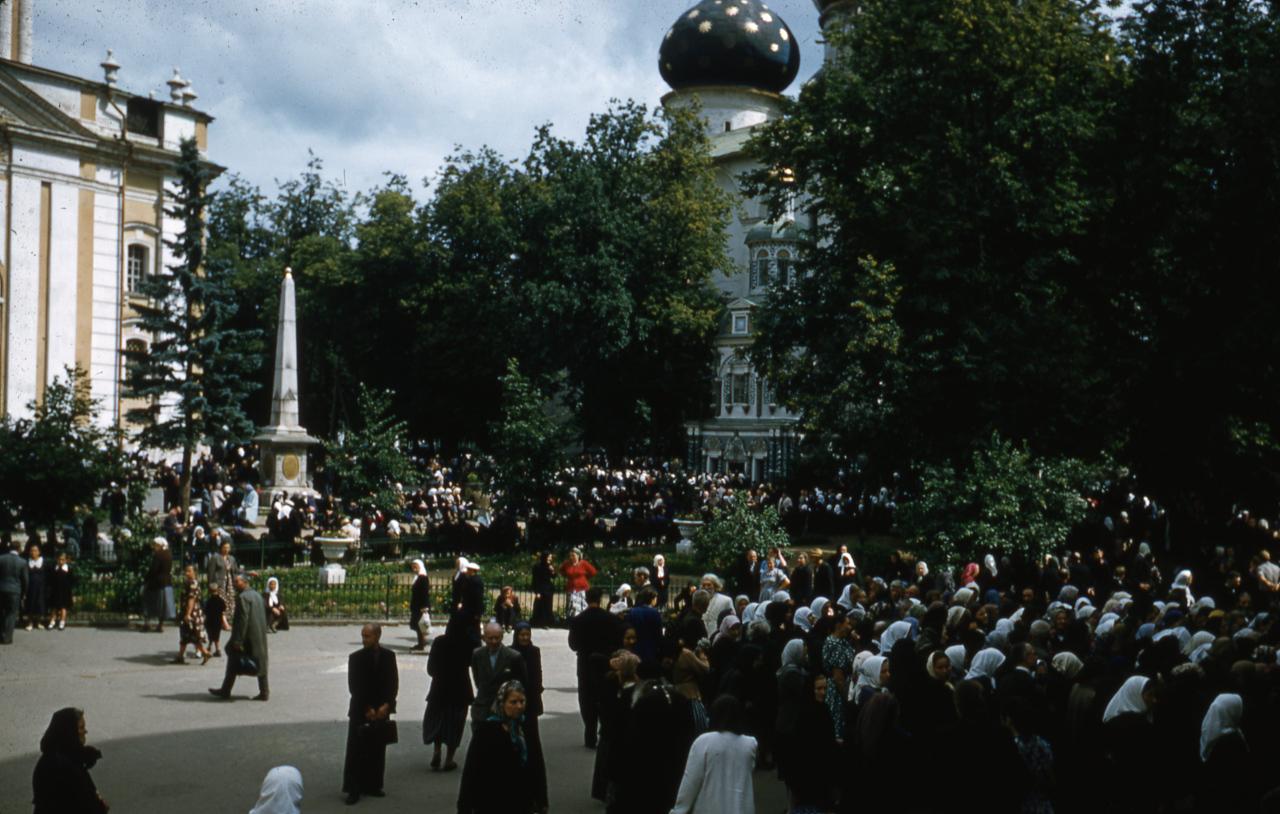 Загорск в 1956 году