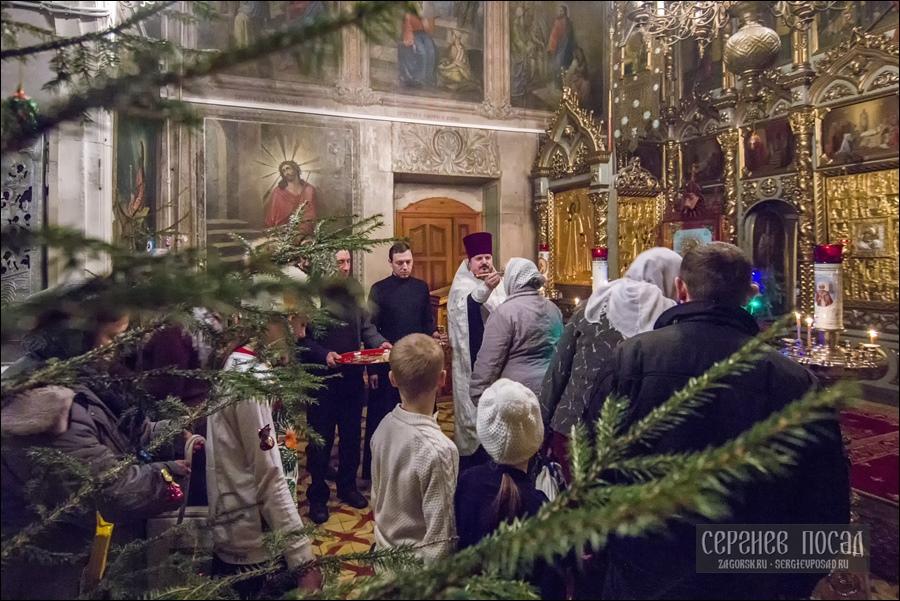 Рождество Господа Бога и Спаса нашего Иисуса Христа. Казанский храм села Шеметово. 6 января 2017 года
