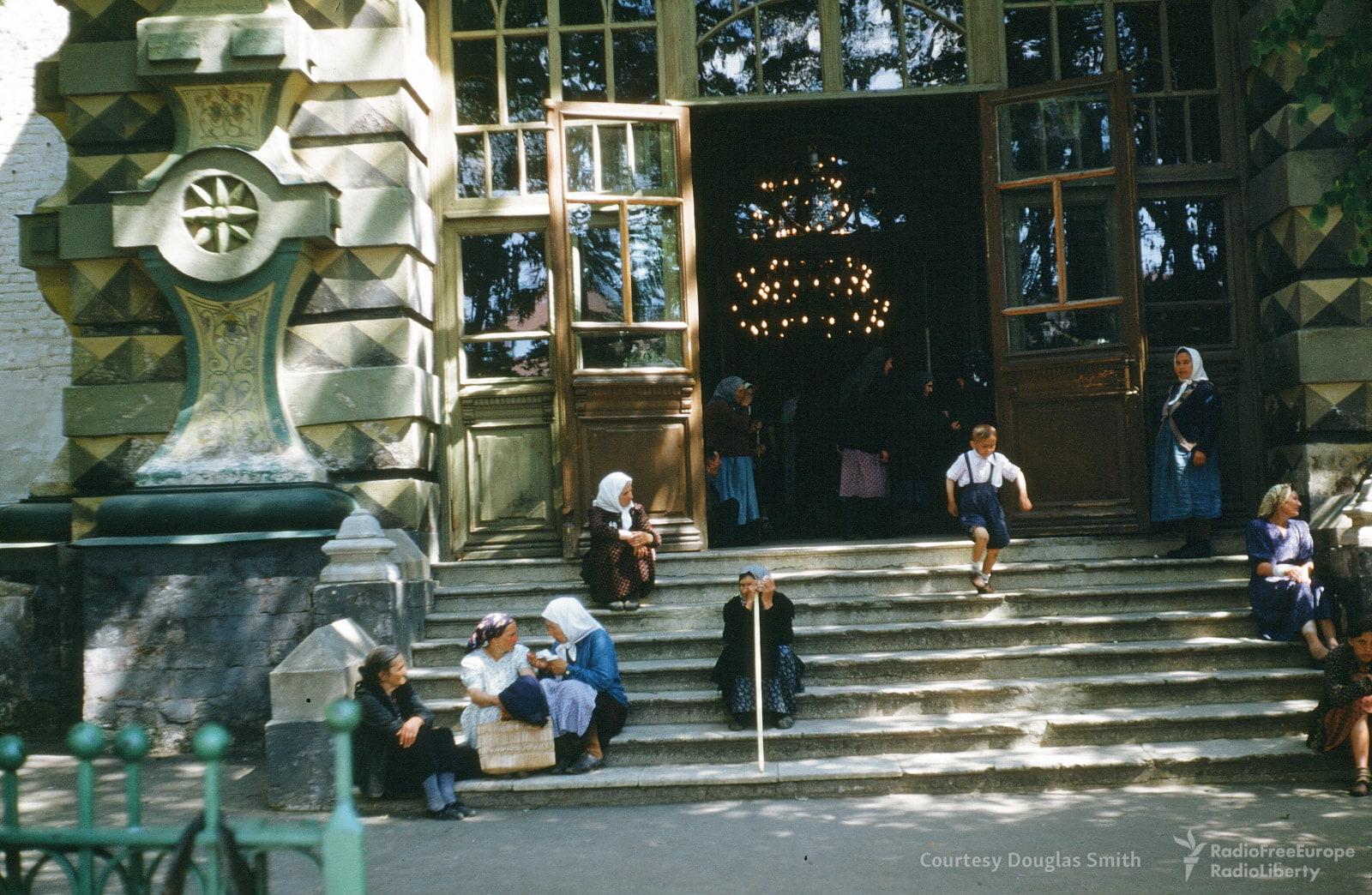 Загорск 1953 года на снимках М. Манхофа