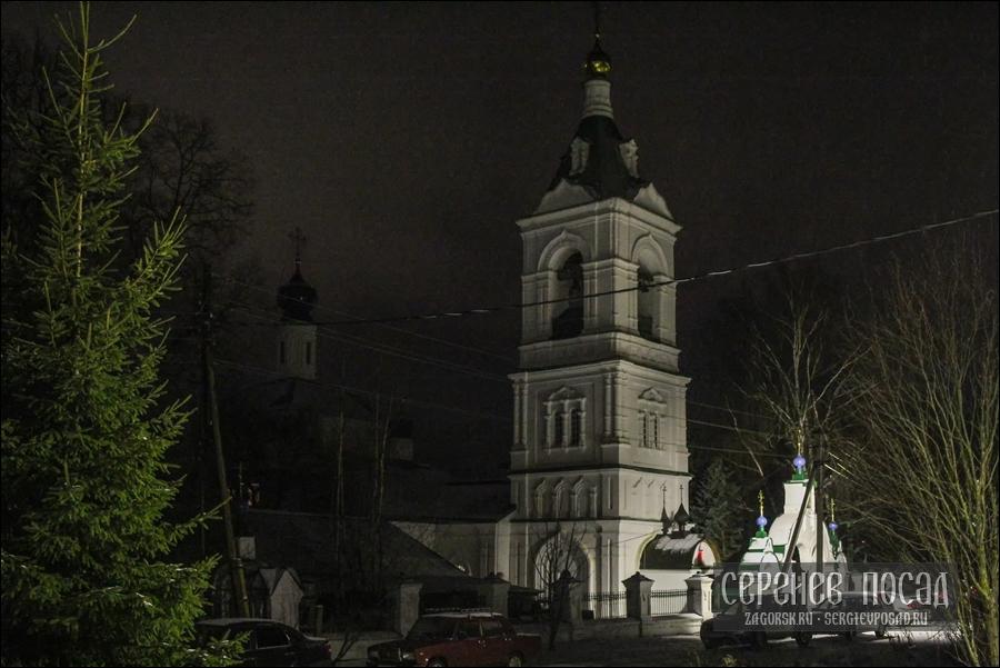 Всенощное бдение на праздник Рождества Христова в Казанском храме села Шеметово. 6 января 2018 года