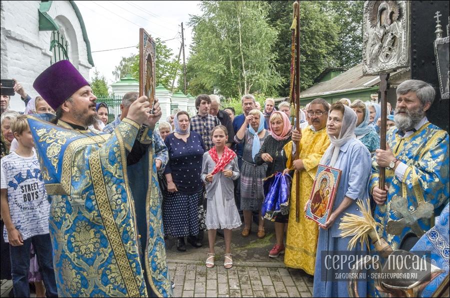 Престольный праздник Казанского храма села Шеметово. 21 июля 2018 года