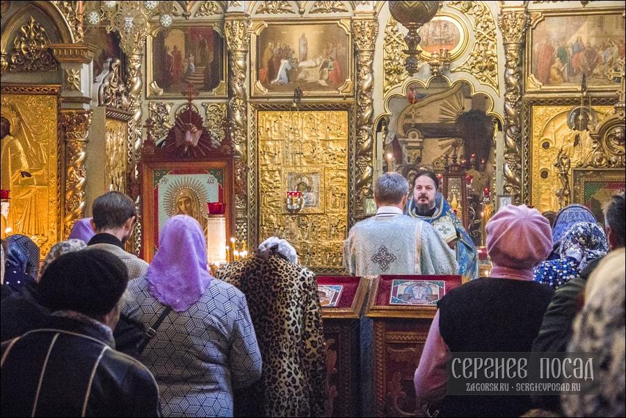 Празднование в честь Казанской иконы Божией Матери в селе Шеметово Сергиево-Посадского района Московской области. 4 ноября 2018 года