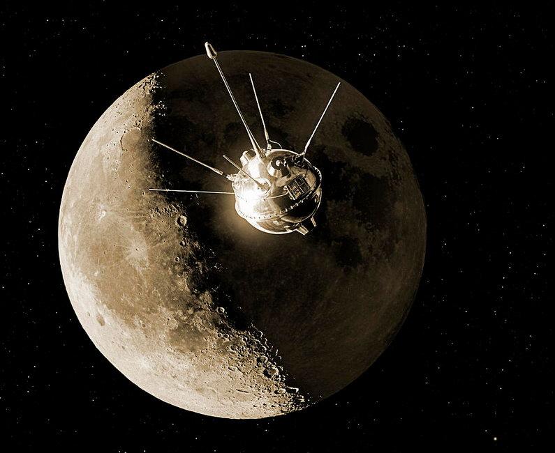 Да здравствует 60-я годовщина запуска Советским Союзом первого в мире искусственного спутника Солнца!