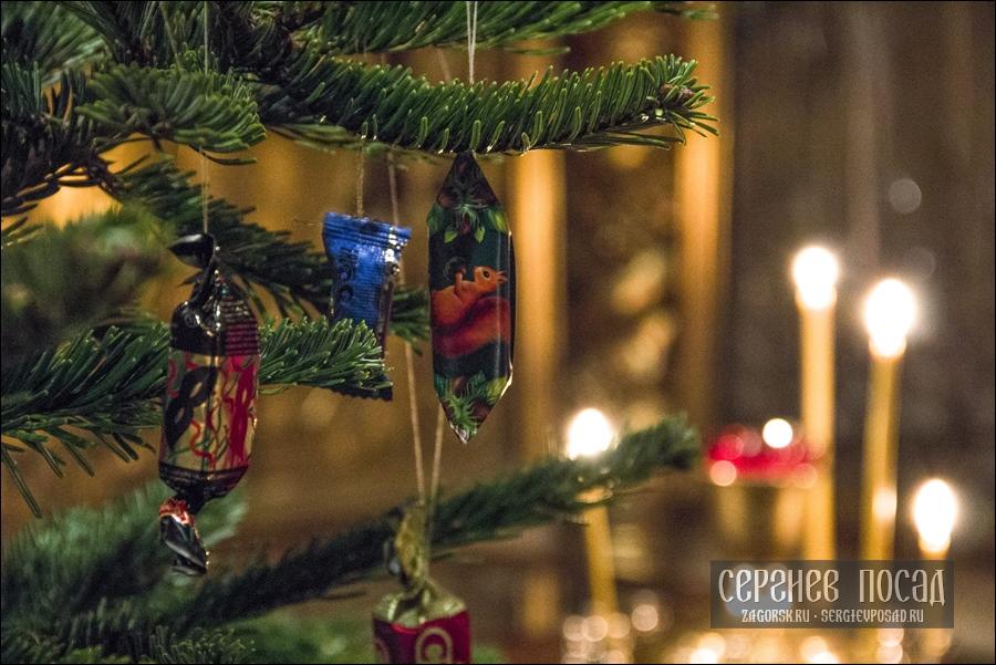 Рождество Христово. Великое повечерие. Казанский храм села Шеметово. 6 января 2019 года