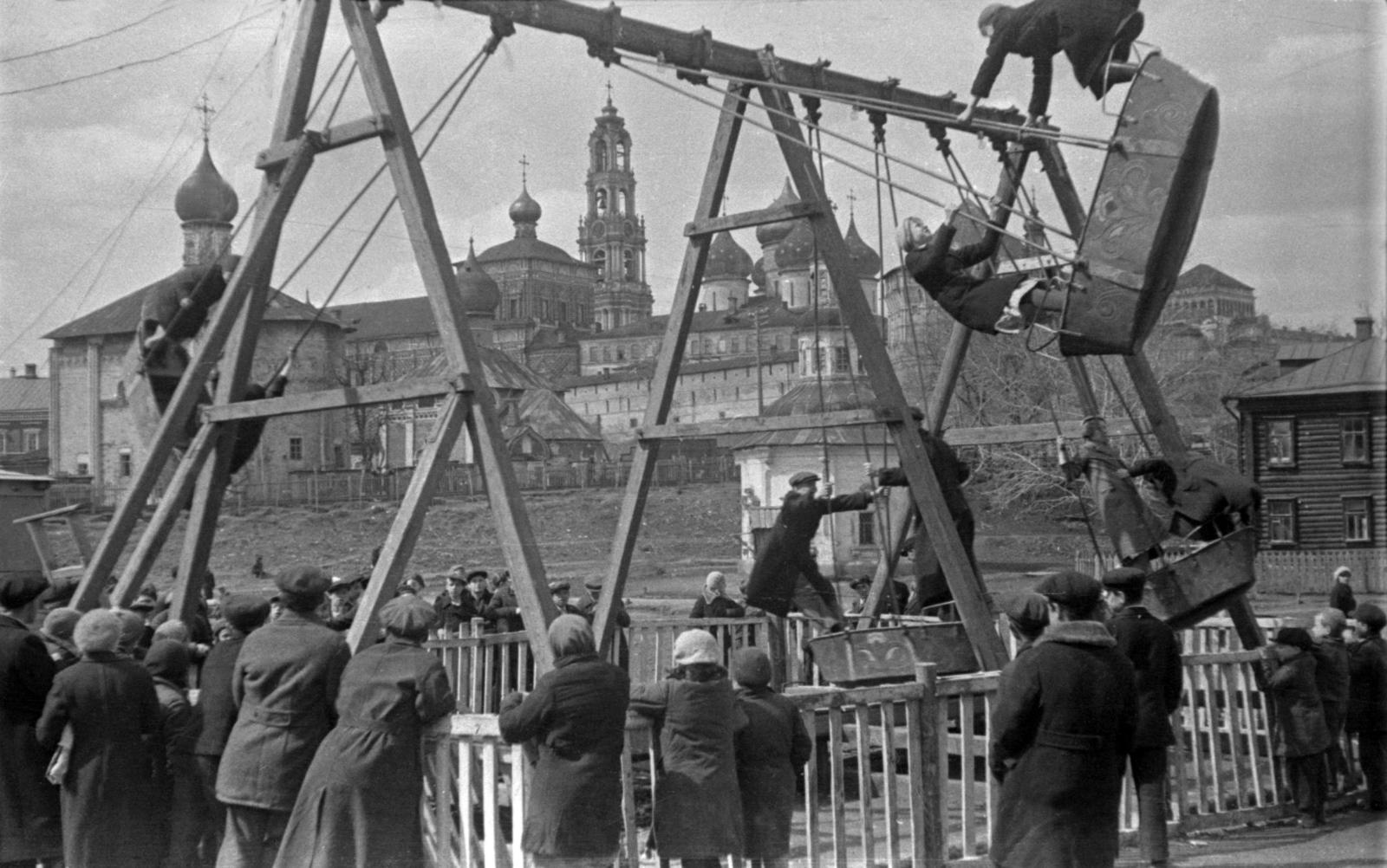 Загорск и его жители на снимках Александра Гринберга. 1939-1941 гг. Часть I