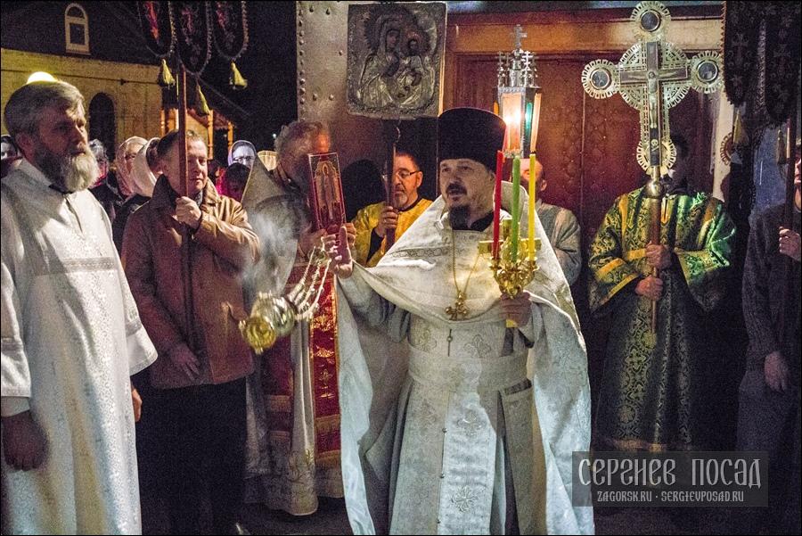 Празднование Пасхи Христовой в Казанском храме села Шеметово. 28 апреля 2019 года