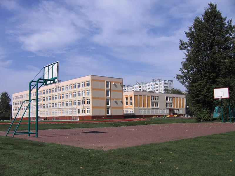 Новая школа в Хотьково на ул.Майолик