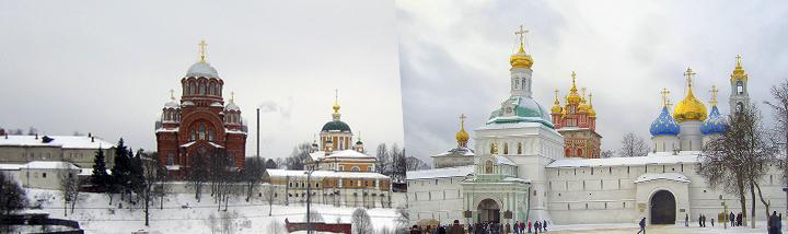 Патриаршьи богослужения в Покровском Хотькове монастыре и Свято-Троицкой Сергиевой лавре
